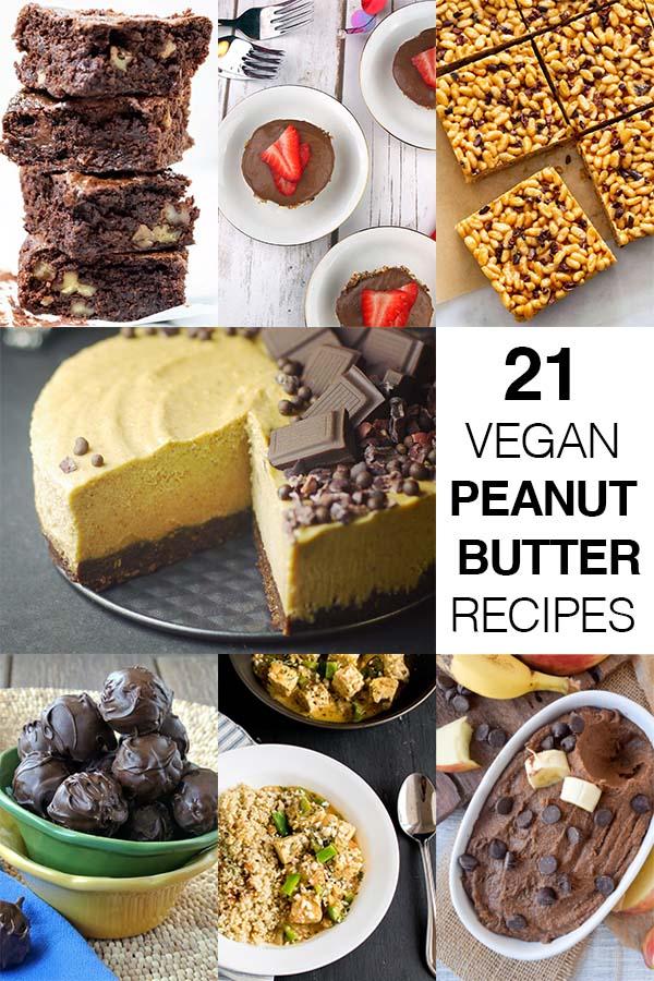 21 Vegan Peanut Butter Recipes!