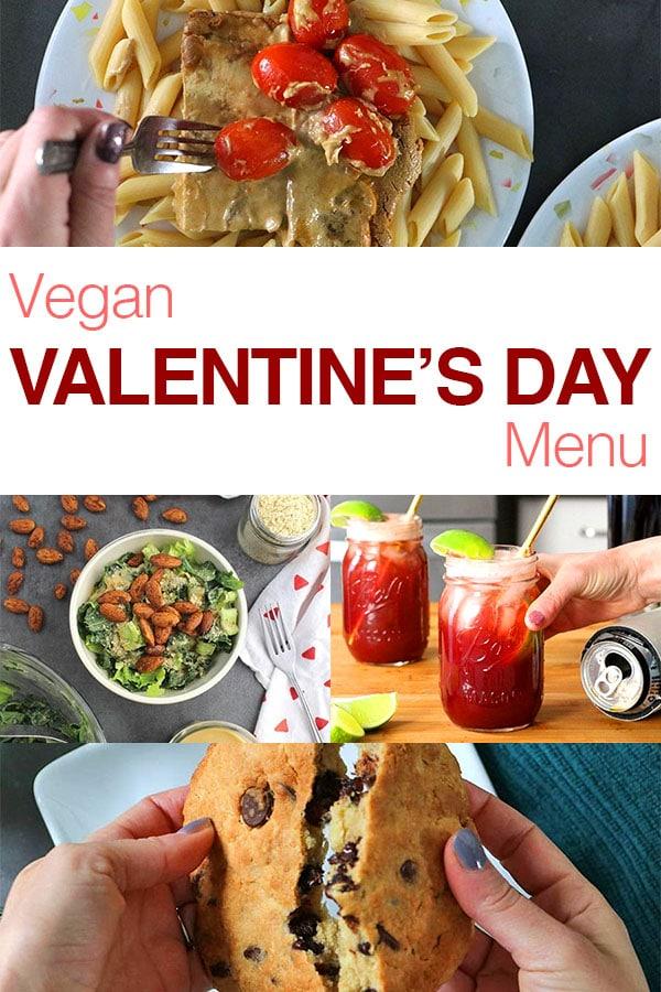 Easy Vegan Valentine's Day Menu