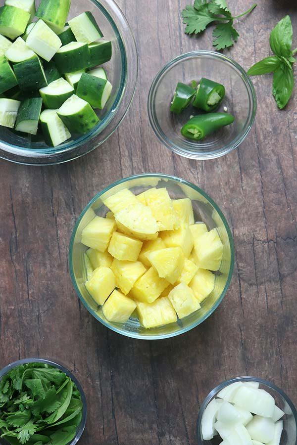 pineapple gazpacho ingredients