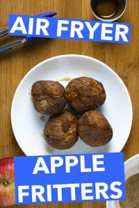 20 Minutes Air Fryer Apple Fritters Glue Amp Glitter