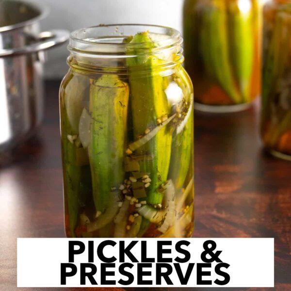 Homemade pickles & preserves