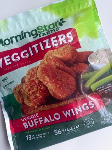 bag of morningstar farms buffalo wings