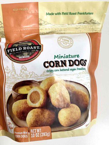 bag of Field Roast Miniature Corn Dogs