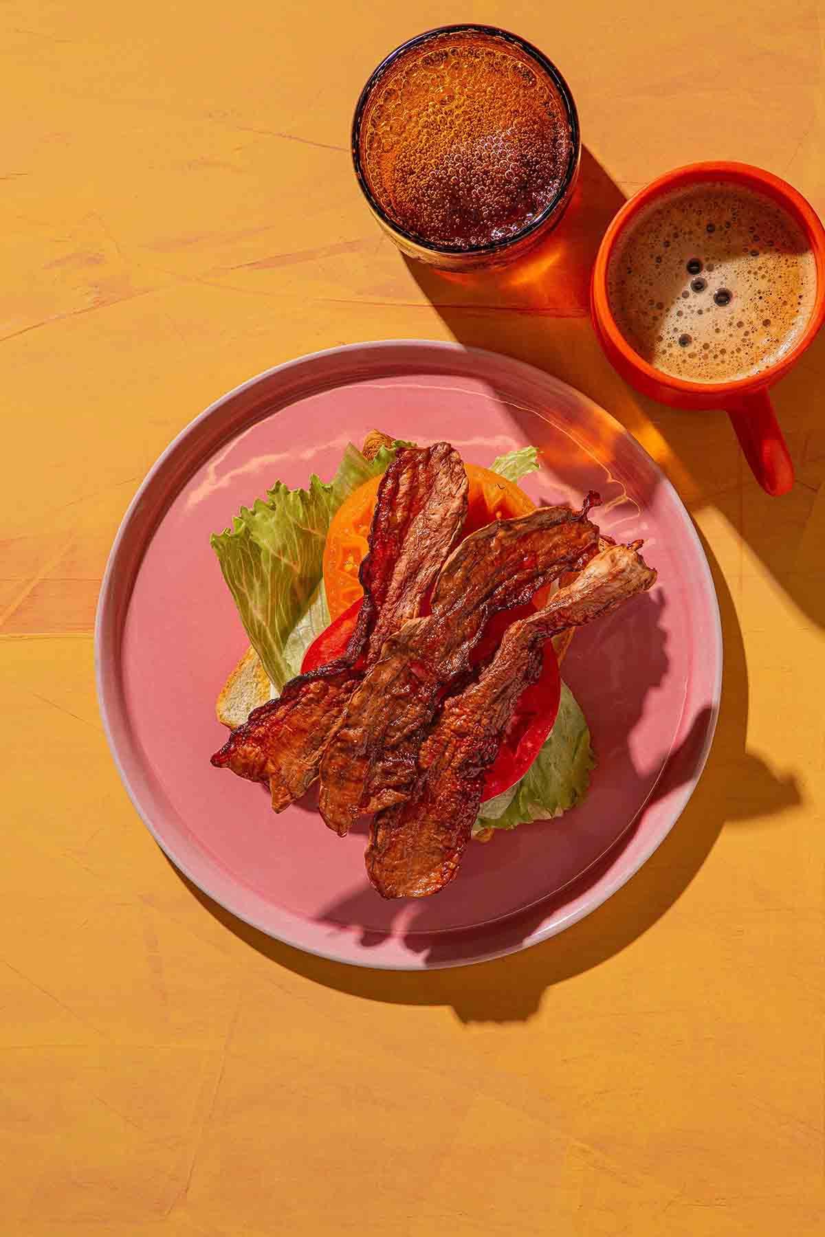vegan bacon from Atlast Food Co.