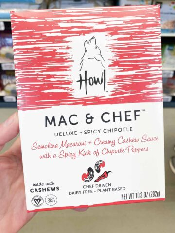 box of Mac & Chef Spicy Chipotle vegan mac
