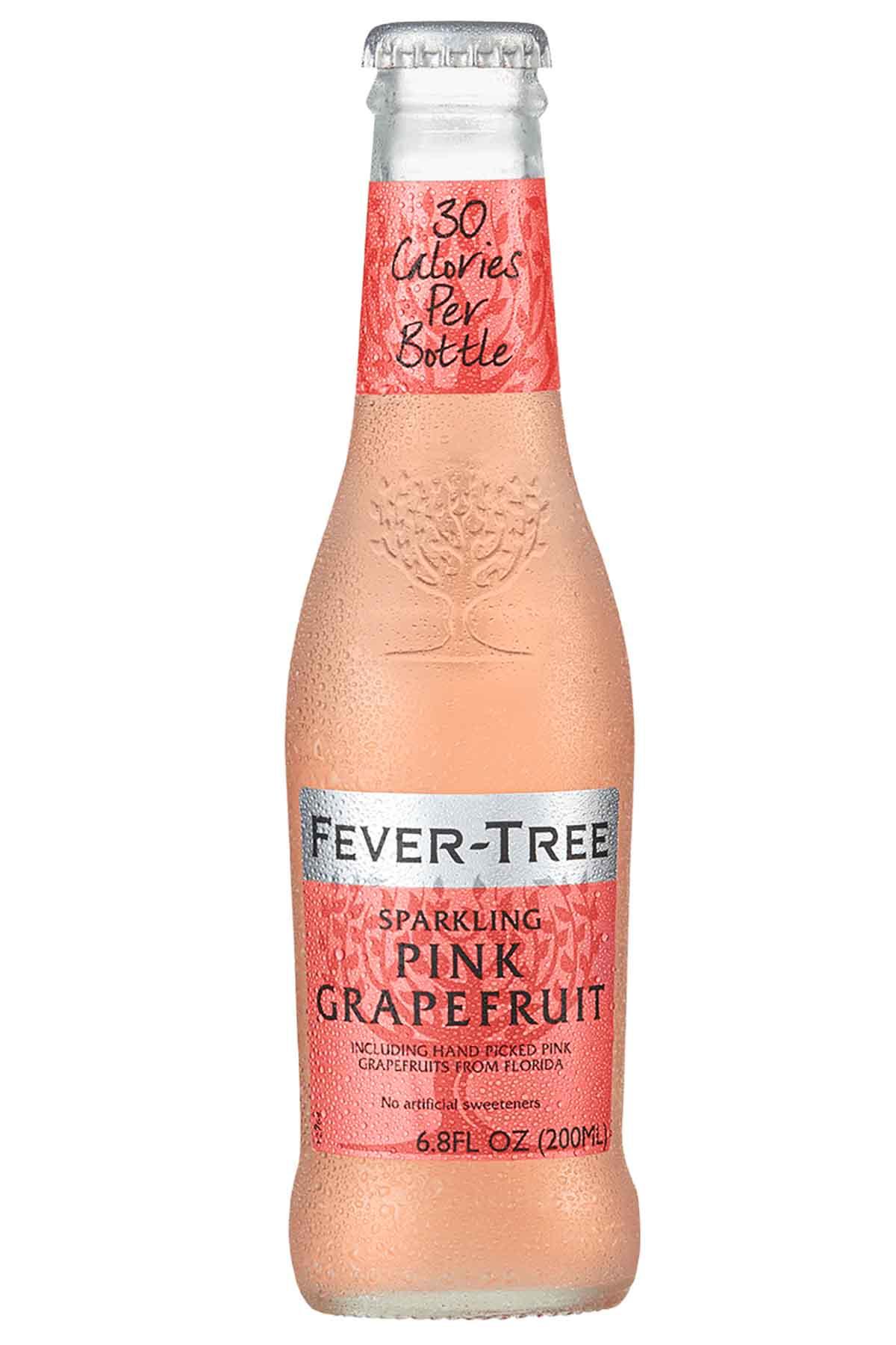 bottle of Fever-Tree Sparkling Pink Grapefruit